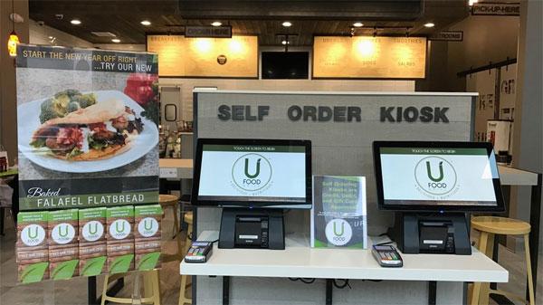 Ресторан UFood Grill использует киоски для персонального взаимодействия с клиентами