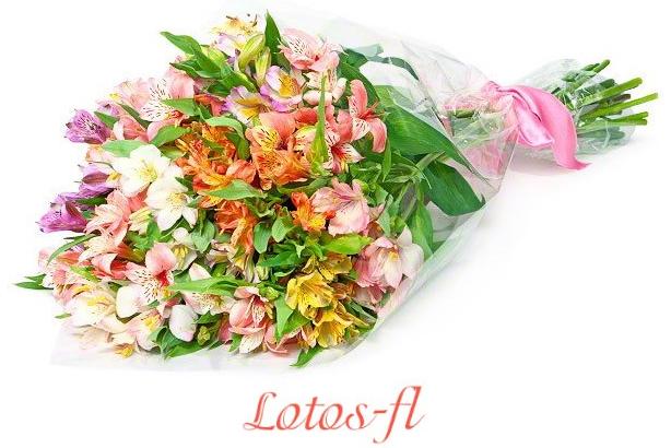 Доставка цветов от Lotos-fl.ru – возможность эффектно поздравить сестру