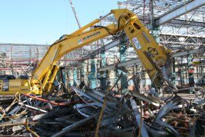Правильный демонтаж металлоконструкций