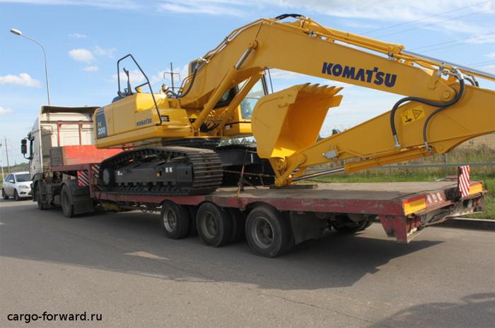 CARGO FORWARD - транспортировка негабаритных и крупногабаритных грузов