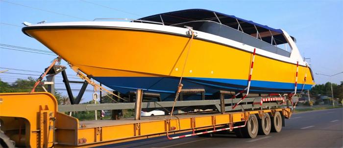 Как транспортируются катера?