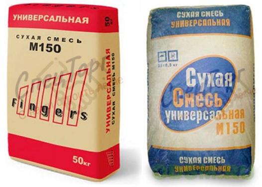 Сухая смесь м-150 универсальная 50 кг - spectorg-cement.ru