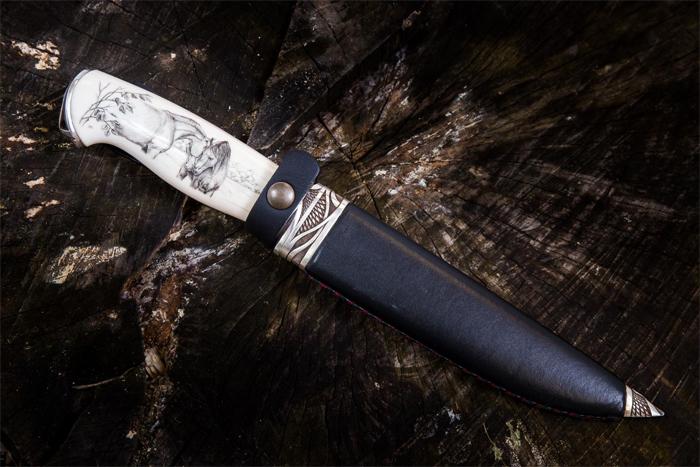 Мастерская Чебуркова: изготовление ножей ручной работы