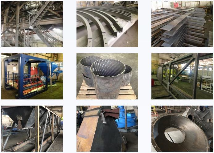 Изготовление металлоконструкций - kvalitet-63.ru