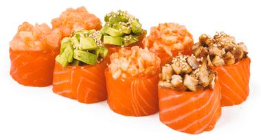 Сеты из морепродуктов