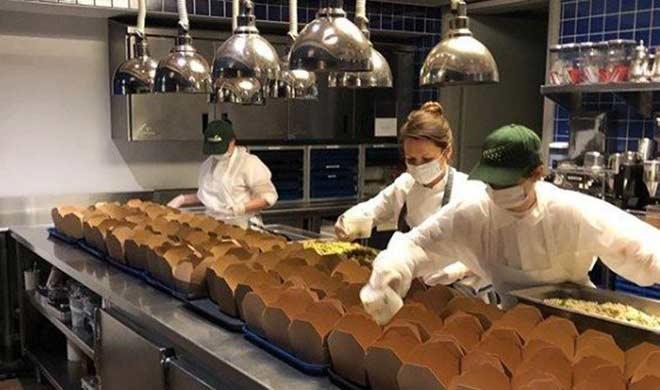 Спасет ли индустрию работа в режиме доставки блюд