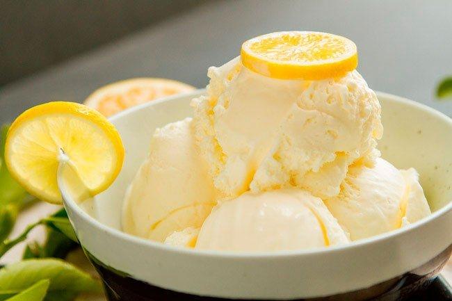 Мороженое «Лимонное»