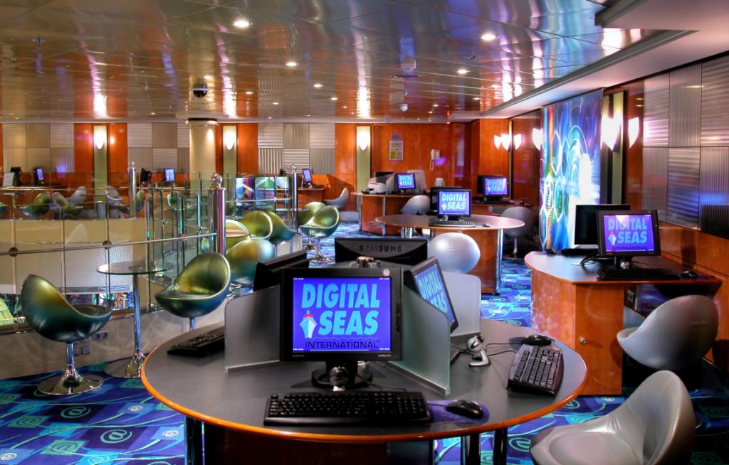 Скоростное интернет-кафе