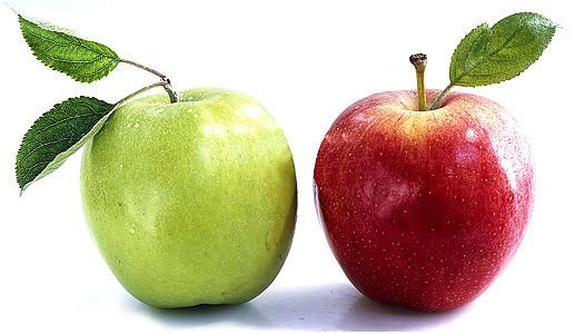 Два слова о яблоках