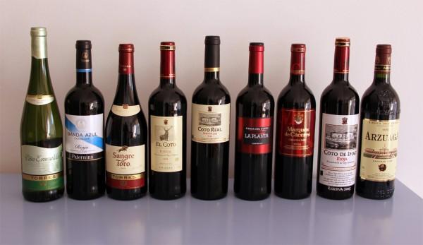 Испанские вина в России