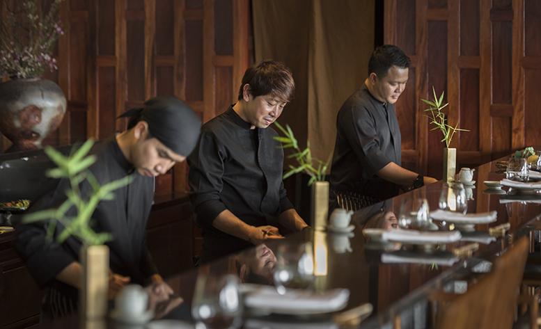 Концепция японского ресторана