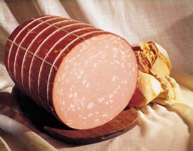 Зарубежные колбасы - Мортаделла