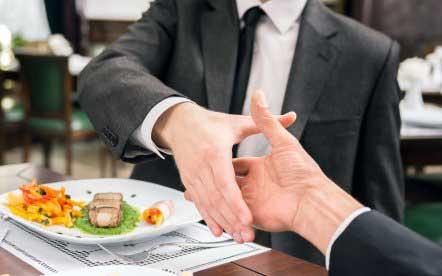 Правила этикета делового обеда
