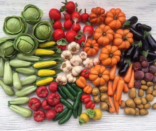 Применение овощей маленьких размеров
