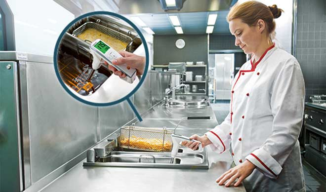 Testo 270 - прибор для контроля фритюрного масла