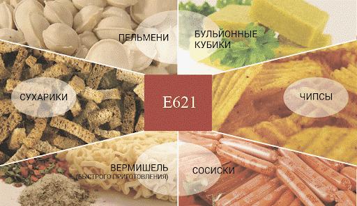 Глутамат натрия в продуктах питания